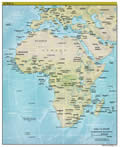 Africa Land Map
