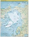 Arctic Land Map